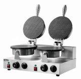 2版の円錐形のパン屋機械かアイスクリーム機械