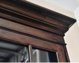 Мебель шкафа Bookcase двери офиса 6 темного цвета (GSP18-003)