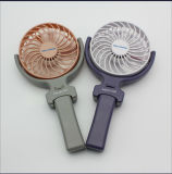 Promotion Gift Mini Handle Rechargeable Fan with Logo Printed