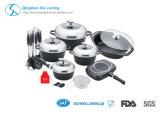 Di alluminio l'insieme antiaderante del Cookware della pressofusione