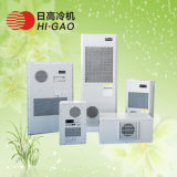 Acondicionador de aire industrial usado en el ventilador Telecom del refrigerador de la cabina