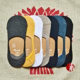 Baumwollreine Farben-unsichtbare Socke 100%