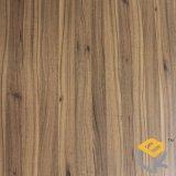 Papel decorativo da grão de madeira do Teak para a mobília