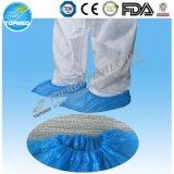 El zapato disponible del PE cubre hecho a máquina