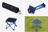 Flexibler Falz-im Freien kampierender Stuhl-Freizeit-Prüftisch (blau)