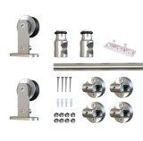 Acero inoxidable accesorios para puertas correderas Barn (LS-SDS-0514)