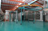 Barriera di sicurezza rivestita della piscina della polvere esterna