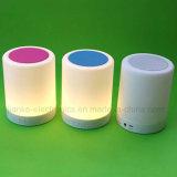 로고를 가진 휴대용 무선 LED 가벼운 Bluetooth 스피커는 인쇄했다 (533)