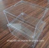 주문 명확한 아크릴 거대한 구두 상자