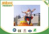 Máquina de juego de rey Jumping Sports del mono para el patio de los niños