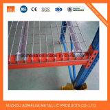 パレットラッキングのための電流を通された溶接された鋼鉄網ワイヤーデッキ