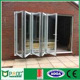 Portas de dobradura de alumínio padrão australianas/porta deDobramento de alumínio