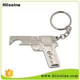 도매 대중적인 선전용 선물 주문 탄알 열쇠 고리 병따개
