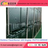 Afficheur LED chaud de la faible consommation d'énergie P10 de ventes pour la publicité