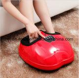 Rouleau-masseur de malaxage électrique rouge de pied de roulement de Shiatsu