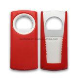 Kundenspezifisches Edelstahl-Drucken-Plastikhandschaft-Bierflasche-Öffner