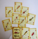 Farbenreiches Drucken angepasst, Playingcards, Schürhaken, Playingcards bekanntmachend mit Abnehmer Designes