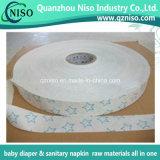 Fita adesiva de papel de liberação de silicone para guardanapo sanitários das matérias-primas