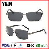 La Plaza de alta calidad Mens polarizada gafas de sol Gafas (YJ-F8506)