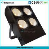 Luz de la audiencia de la anteojera de la etapa de la MAZORCA del ojo 4X100W LED del poder más elevado 4