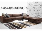 Sofá de sala de estar de sala de estar de alta qualidade