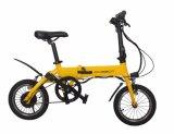 """la """" pédale 14 a aidé le vélo électrique avec la batterie lithium-ion 36V 5.2ah, d'atterrisseur le pouvoir 250W"""