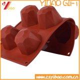 Molde de la torta de la bandeja/del silicón del cubo de hielo de la dimensión de una variable de la joya del silicón/molde del pudín del silicón
