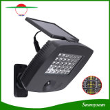 Projecteur solaire 30 LED haute luminosité Projecteur Rechargeable solaire avec détecteur de mouvement de la sécurité des feux de paroi
