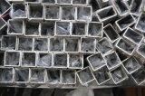Tubo de acero inoxidable cuadrado para la industria flúida de Transport&Chemical