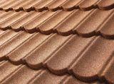 石造りの上塗を施してある金属の屋根瓦の多彩な石造りの屋根瓦