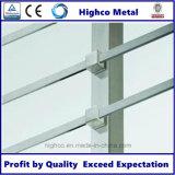 Support de barre transversale pour montage en tube carré pour barrière d'escalier