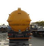 6X4 진공 하수구 16000L 진공 하수 오물 흡입 트럭