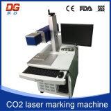 Máquina caliente de la marca del laser del CO2 del estilo 100W