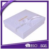 Imballaggio rigido del contenitore bianco di cartone della chiusura magnetica di alta qualità