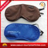 Ombre d'oeil de mode avec le masque personnalisé de sommeil de ligne aérienne de logo