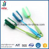 (YF01-42) mango de plástico de cocina de cristal de Tin Cup lavado de botellas cepillo de limpieza