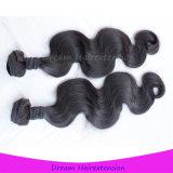 工場価格最上質ボディ波のバージンのマレーシア人の毛