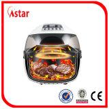 Friteuse électrique exempte d'huile d'air de la CE pour la cuisine à la maison 12L