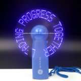 Вентиляторы горячего подарка промотирования сообщения надувательства СИД миниые с логосом напечатали (3509)