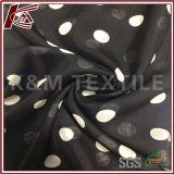大きいドット・パターン100%の絹8mm純粋な絹の軽くて柔らかいファブリック