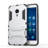 Caixa Shockproof feita sob encomenda do telefone de pilha da armadura de Kickstand para o iPhone 6s 7