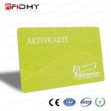 прокатанный 13.56MHz членский билет RFID франтовской