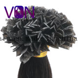 Высокое качество V-Наклоняет выдвижение волос бразильской людской девственницы естественное