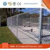 PVC上塗を施してあるチェーン・リンクの塀の網