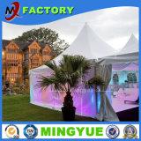 Varios tipos tienda al aire libre de la carpa del banquete de boda de la exposición material de aluminio impermeable incombustible insonora romántica