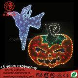 Waterdichte LEIDENE van de Pompoen en van het Spook van Halloween de Lichten van het Motief voor de Decoratie van de Straat