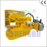 Máquina de estaca hidráulica da tubulação da câmara de ar da placa da sucata
