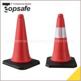 S-1202 50cm Verkehrssicherheit PET Verkehrs-Kegel