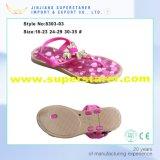 Sandali aperti casuali della ragazza del PVC della punta, ultimi sandali Funky dei capretti per le ragazze