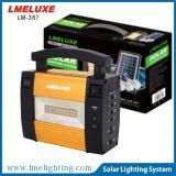 Портативный солнечный домашний свет с набором освещения батареи Lm-367 6V 4ah солнечным